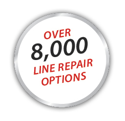 Over 8000 Line Repair Options